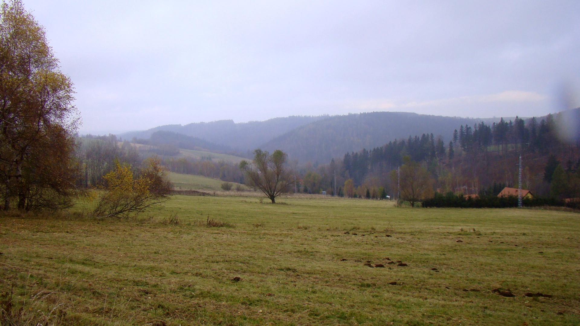Zamglone Góry Sowie