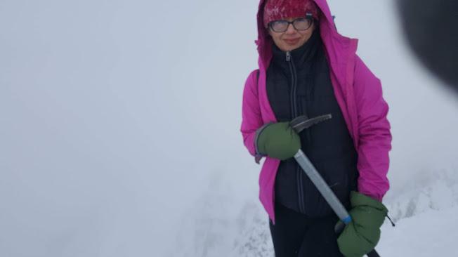 Wejście na Rysy zimą