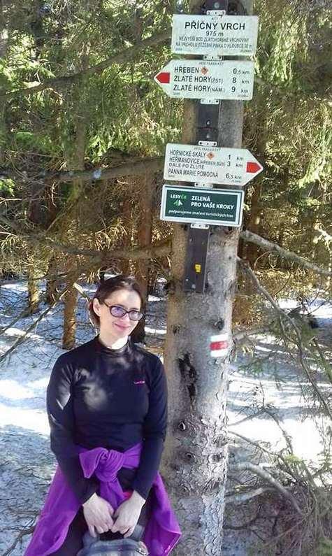 Zimowy dzień w Górach Opawskich