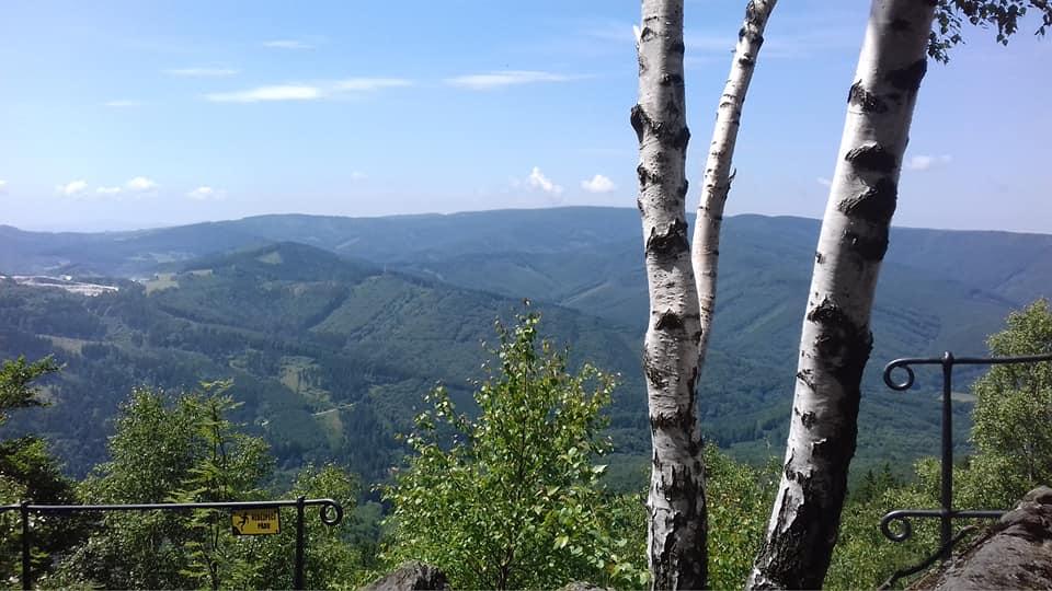 Wypad w Rychlebskié hory w Czechach
