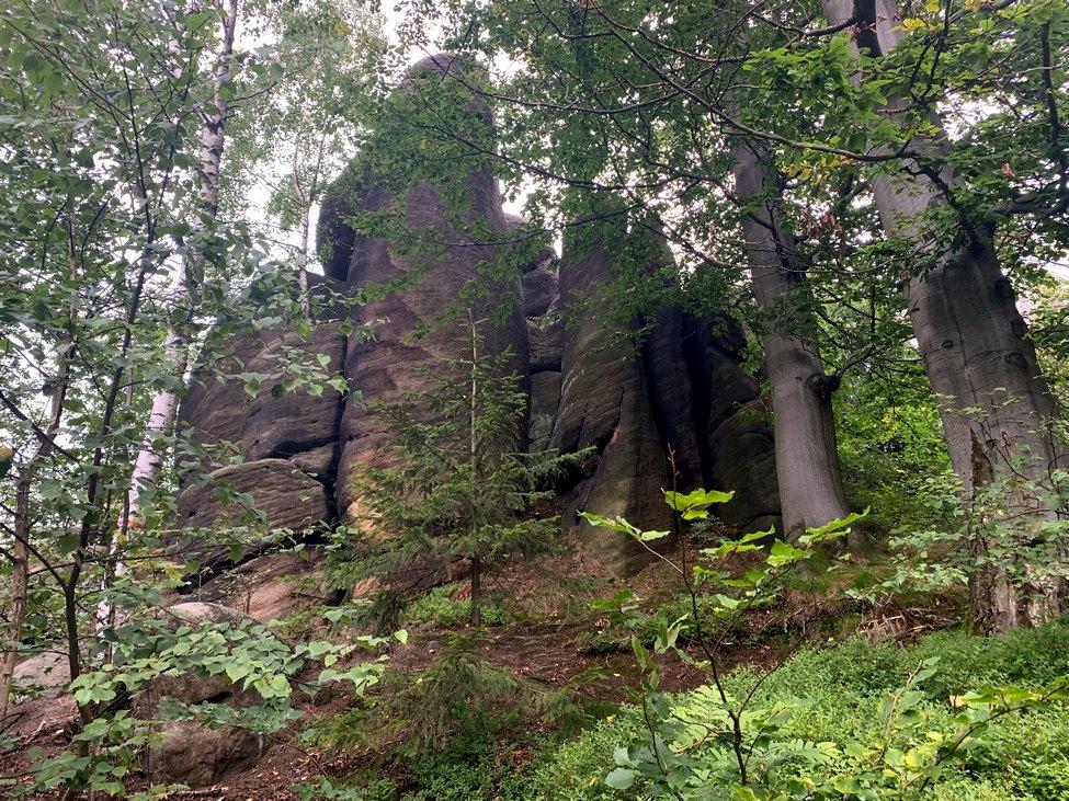 W Broumovskich Stenach