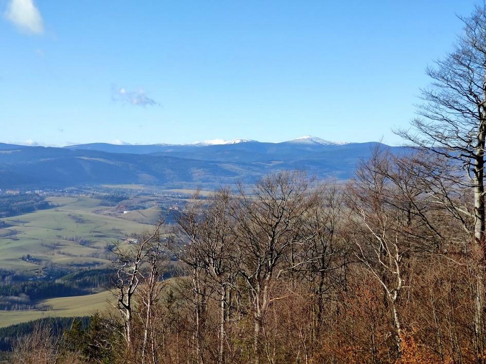 Góry Krucze – jesień z mroźnym akcentem