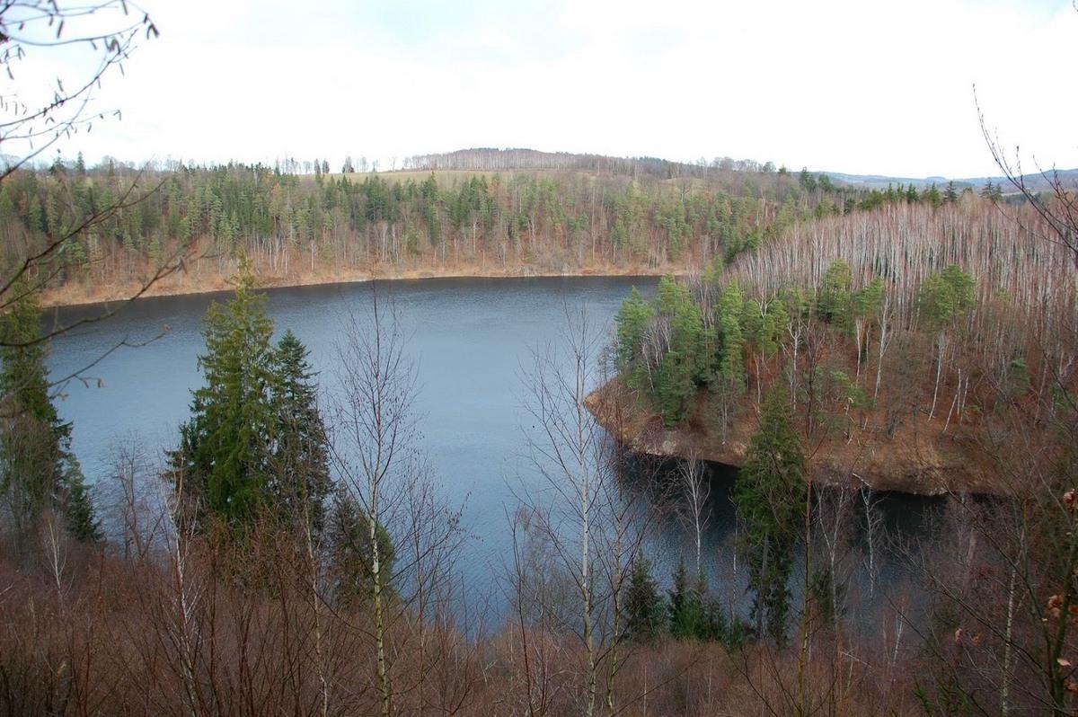 Zakamarki Jeziora Pilchowickiego