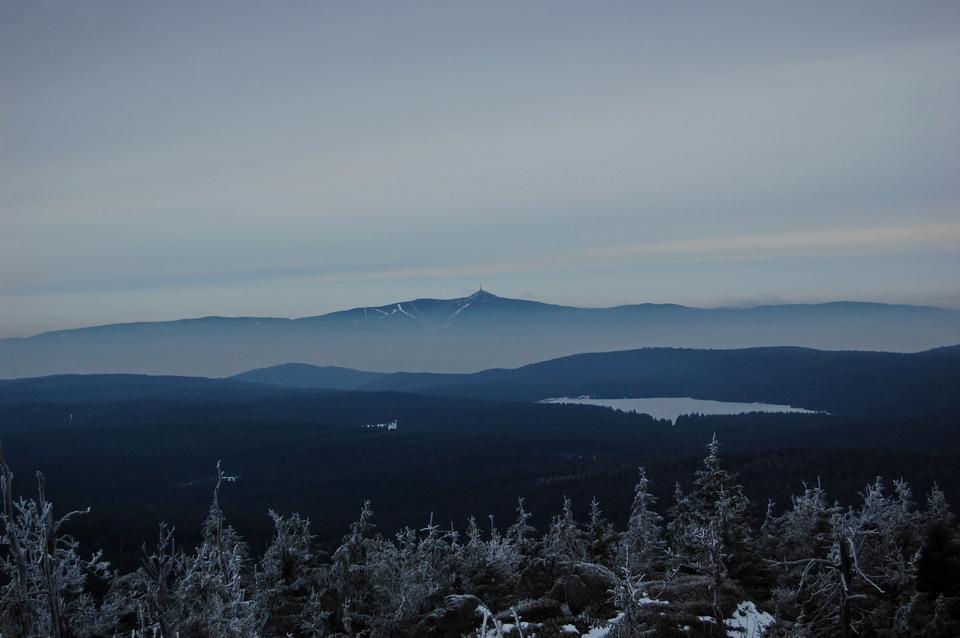 Góry Izerskie po czeskiej stronie mocy