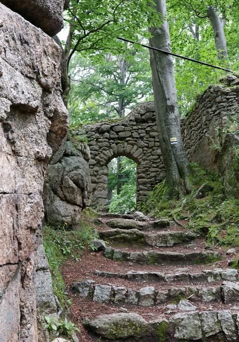 Ruiny Zamku Chojnik