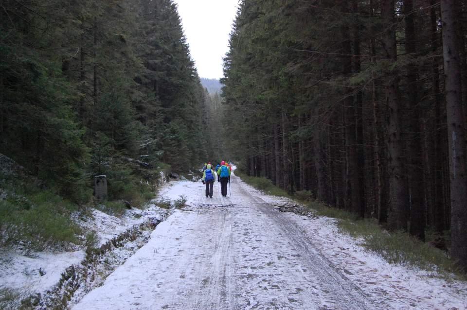 002 Karkonosze – początek zimy