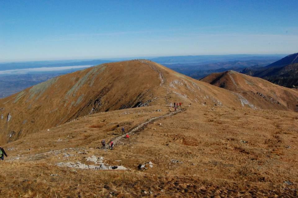 Złota polska jesień w Tatrach