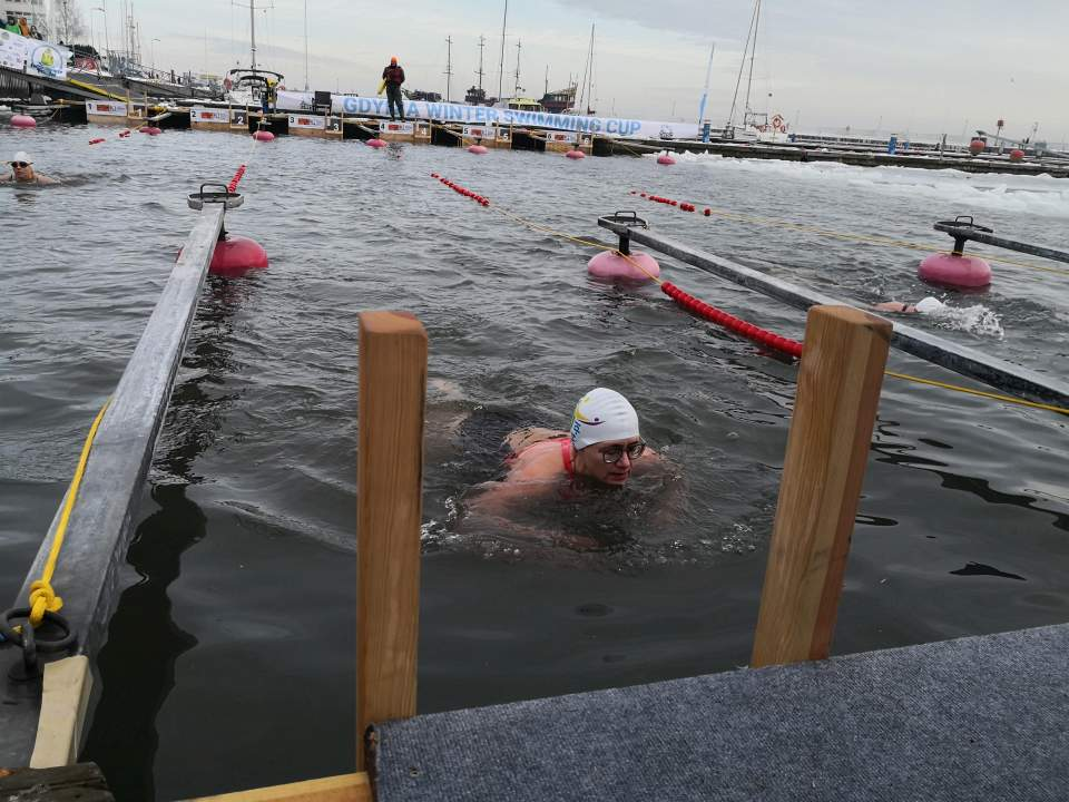 Lodowe pływanie w Bałtyku - GWSC 2021